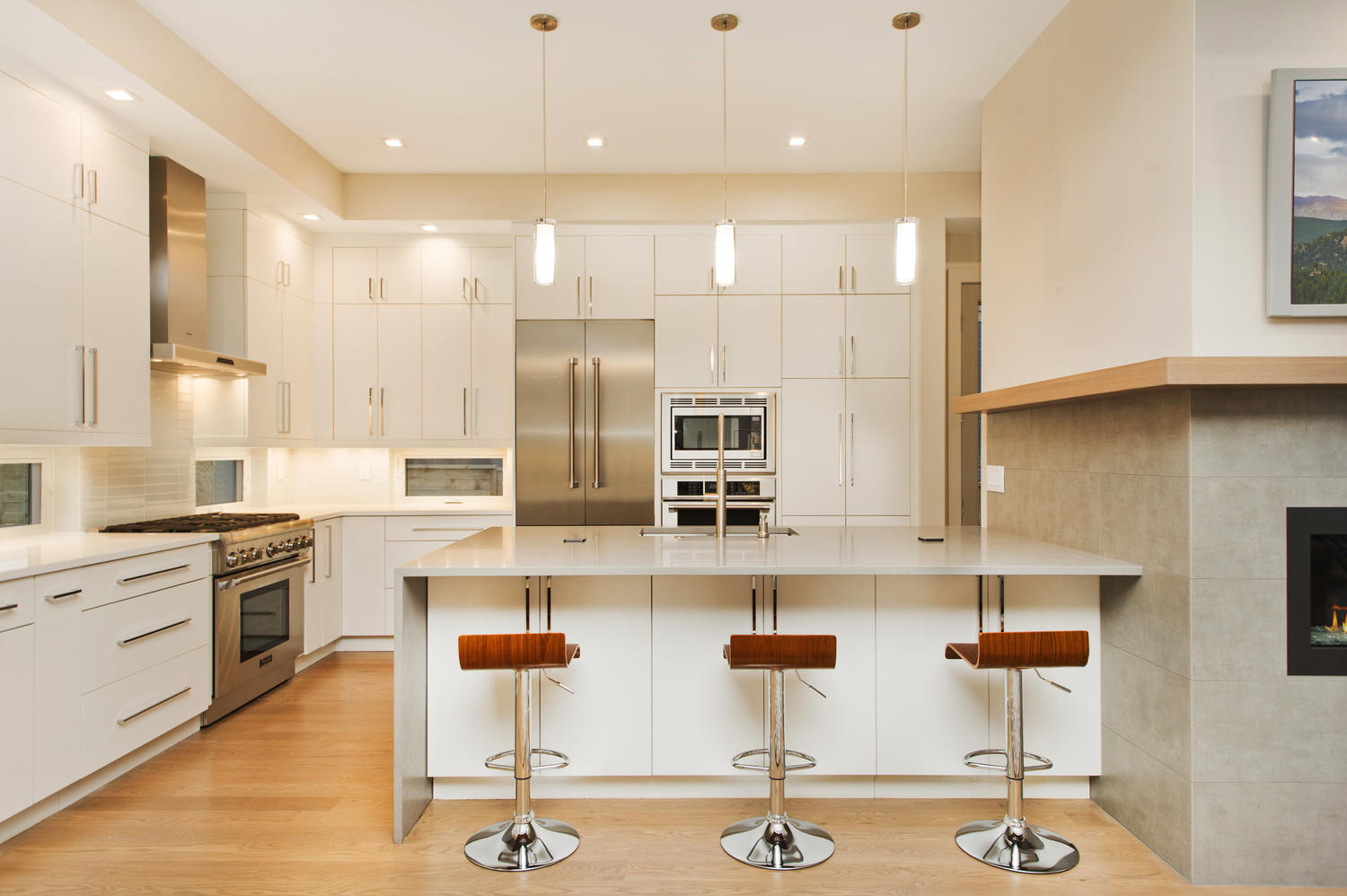 6906 E Archer Place-large-018-80-Modern White Cabinets Have-1500x999-72dpi